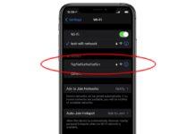 Il nome della rete WiFI che fa impazzire l'iPhone