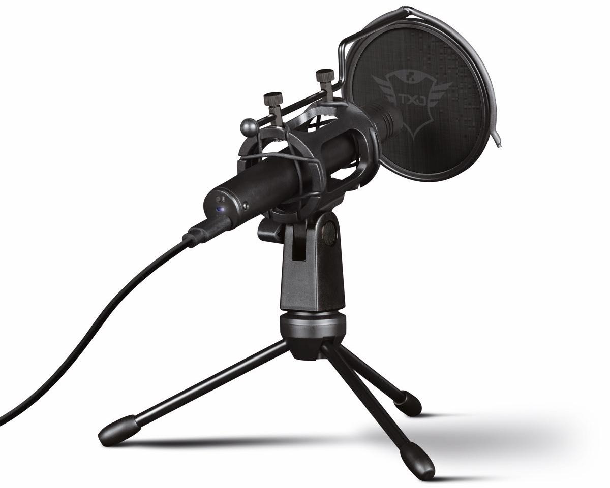 Trust GXT 241 Velica, il microfono per lo streaming