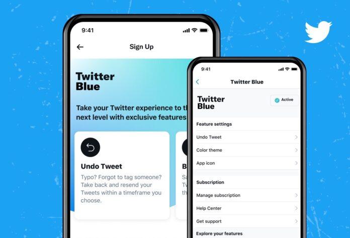 Twitter Blue lanciato in Australia e Canada
