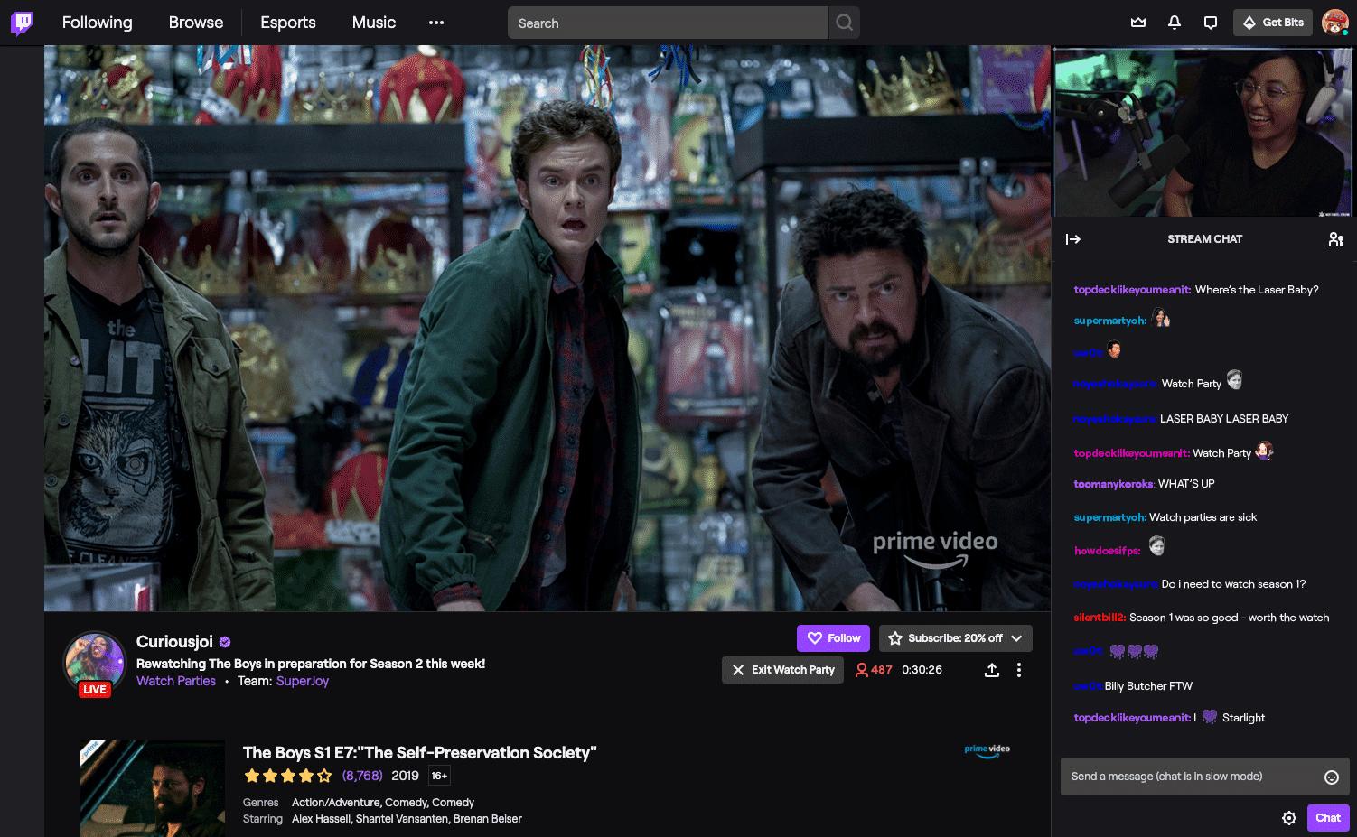 Twitch Video Party ora funziona su iOS e Android