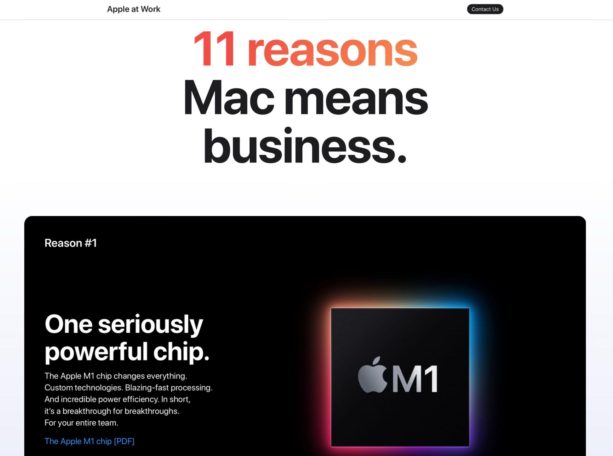11 motivi per convincere le aziende a passare al Mac