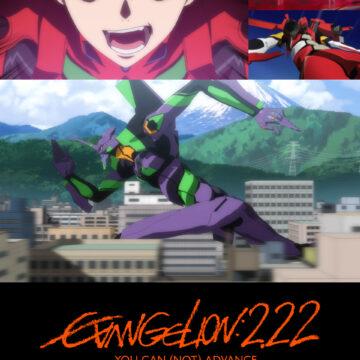 Evangelion, arriva il 13 agosto il film anime blockbuster