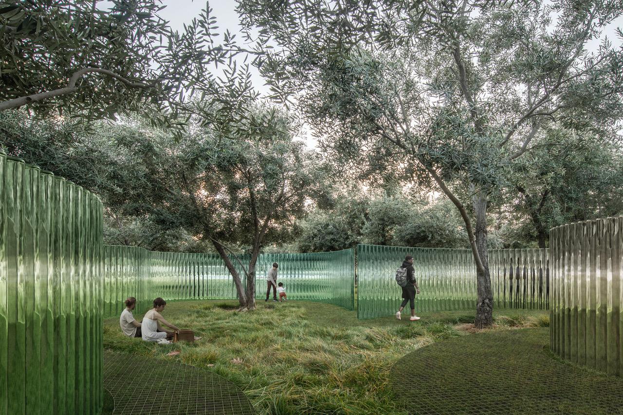 Mirage, la scultura che porta tutto il mondo ad Apple Park