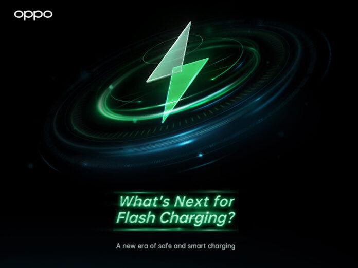 OPPO presenta la nuova ricarica flash più veloce e smart