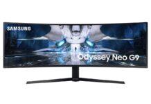 Samsung Odyssey Neo G9 è un monitor mini LED da 49″ per il gaming
