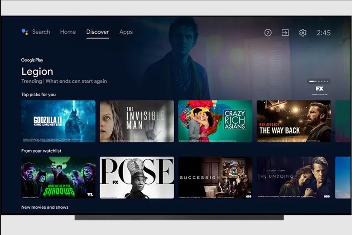 Android TV otterrà alcune delle migliori funzionalità di Google TV