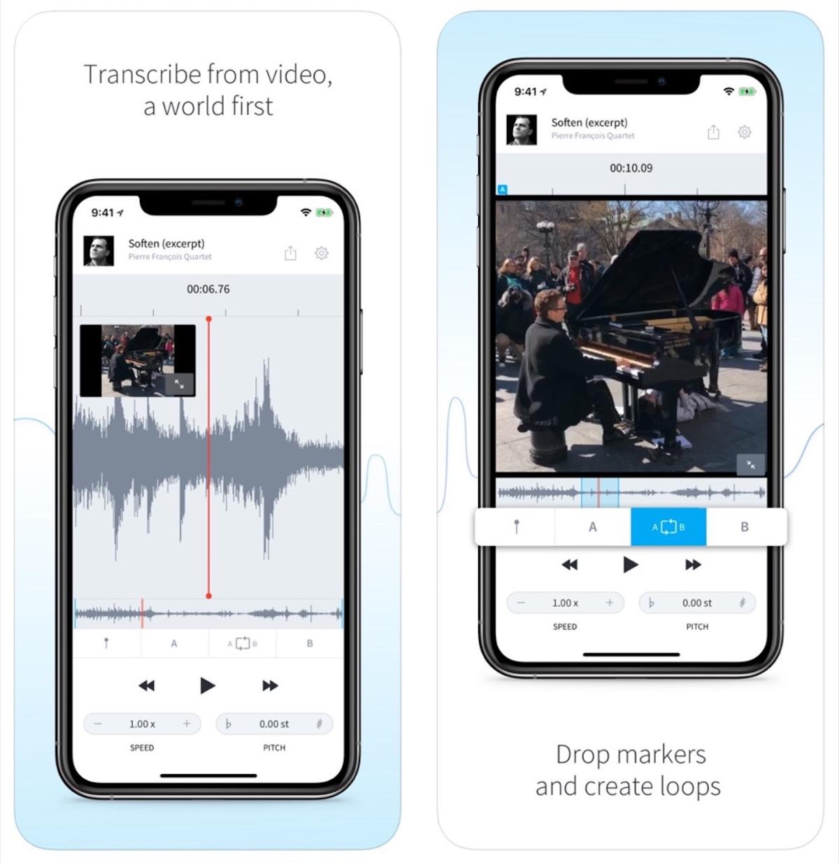 AudioStretch vi aiuta a suonare meglio con iPhone e iPad