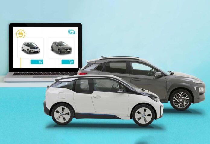 Le auto elettriche usate più vendute online