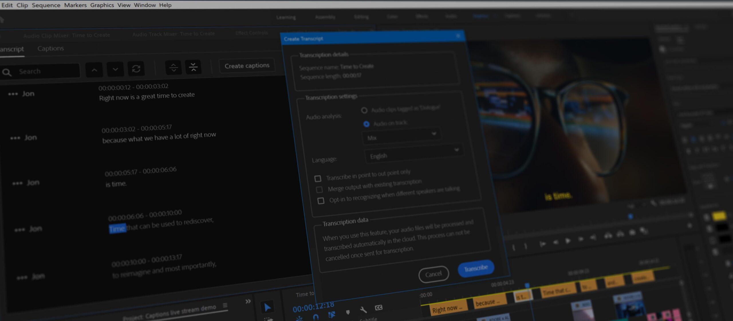 Adobe Premiere Pro in versione nativa per i Mac M1