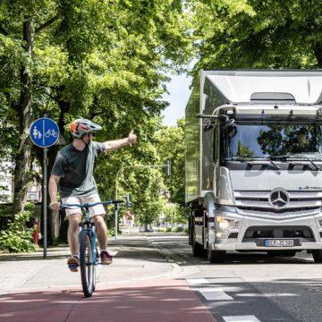 Mercedes-Benz eActros è il truck elettrico con 400 km di autonomia