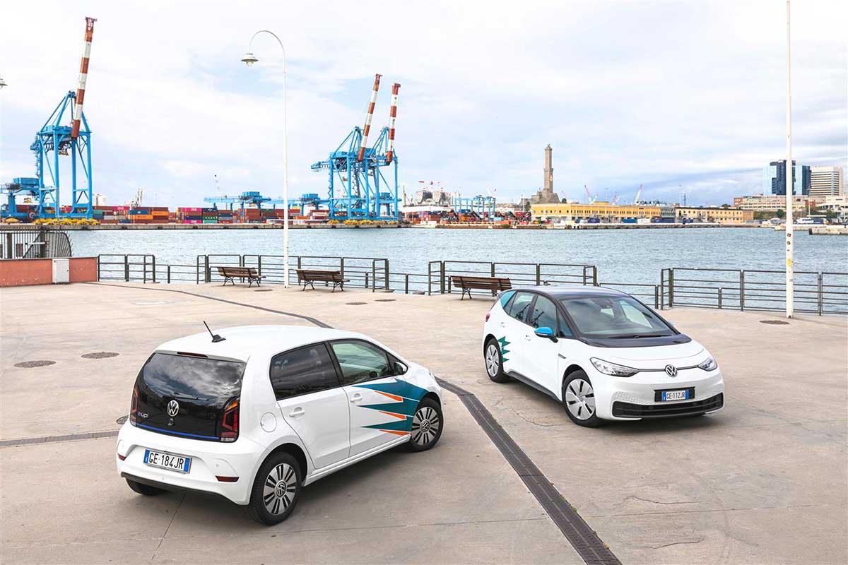 Elettra, il nuovo car sharing elettrico di Genova