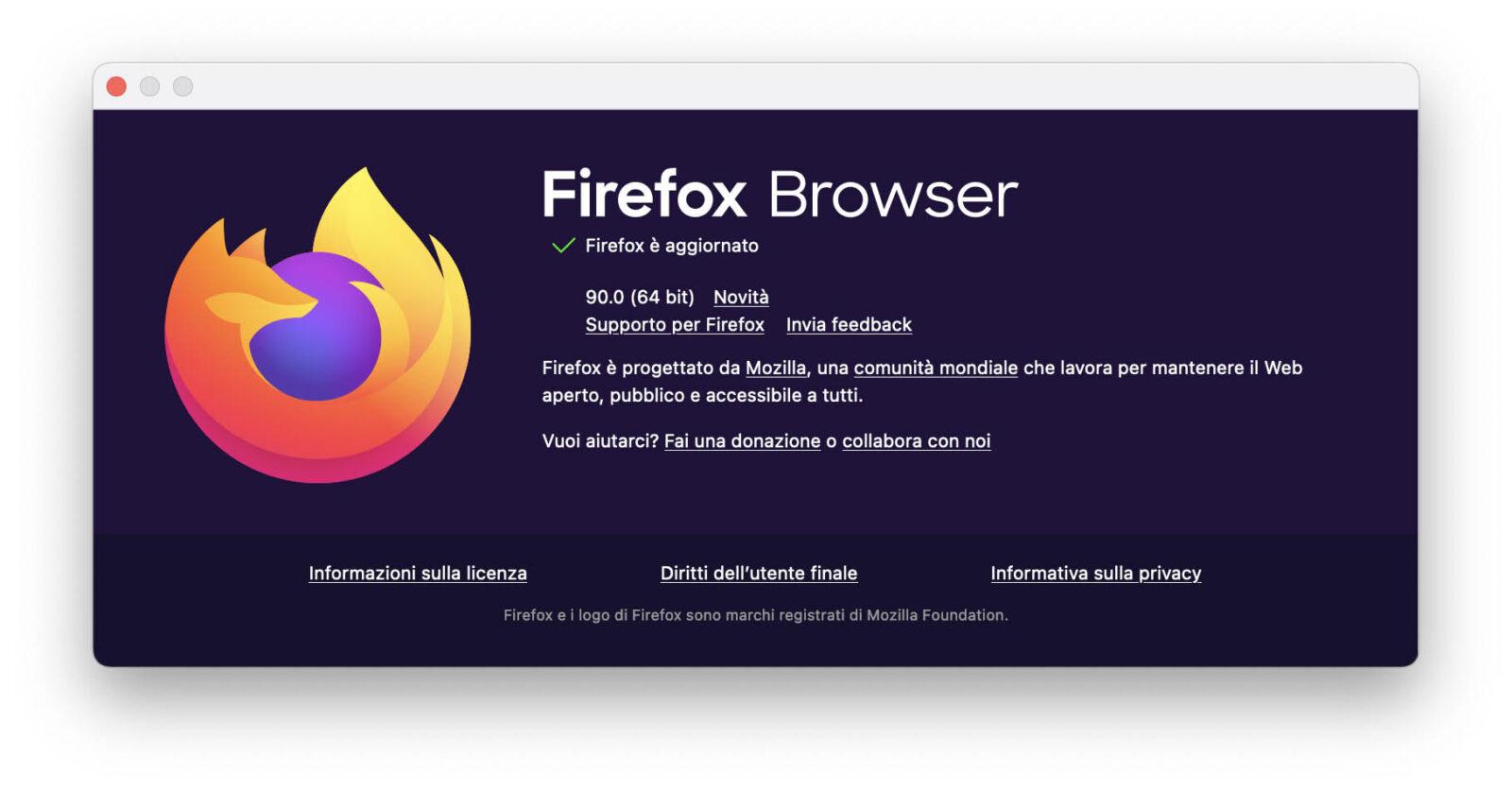 Firefox 90 impedisce a terze parti il tracking con Facebook