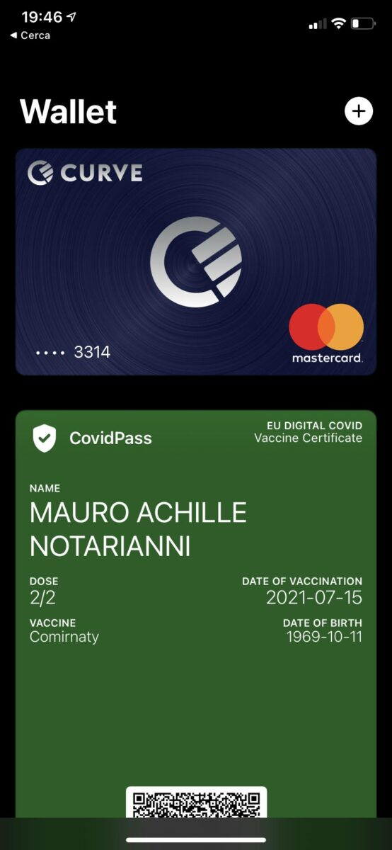 Come rendere il Green Pass disponibile su Apple Wallet di iPhone e Apple Watch