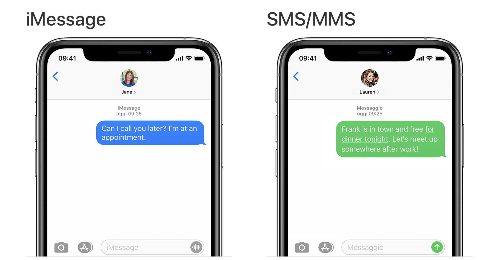 Tutti gli operatori di telefonia USA supportano il protocollo RCS per gli SMS