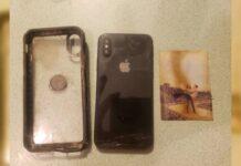 iPhone abbocca all'amo, disperso in acqua da 8 mesi