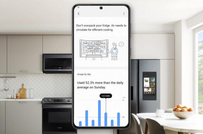 SmartThings di Samsung monitora il consumo di energia