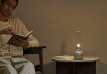 Sony rivela il suo nuovo altoparlante portatile stile lampada con effetto lume di candela