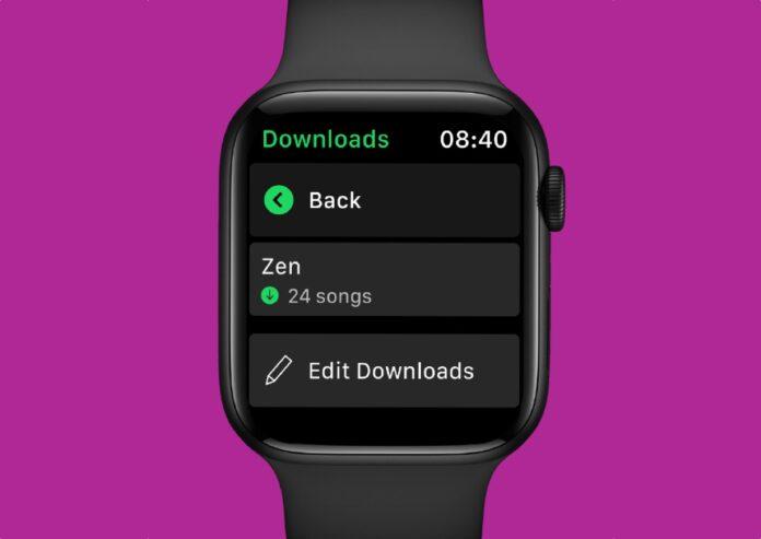 Spotify, come attivare la riproduzione offline su Apple Watch