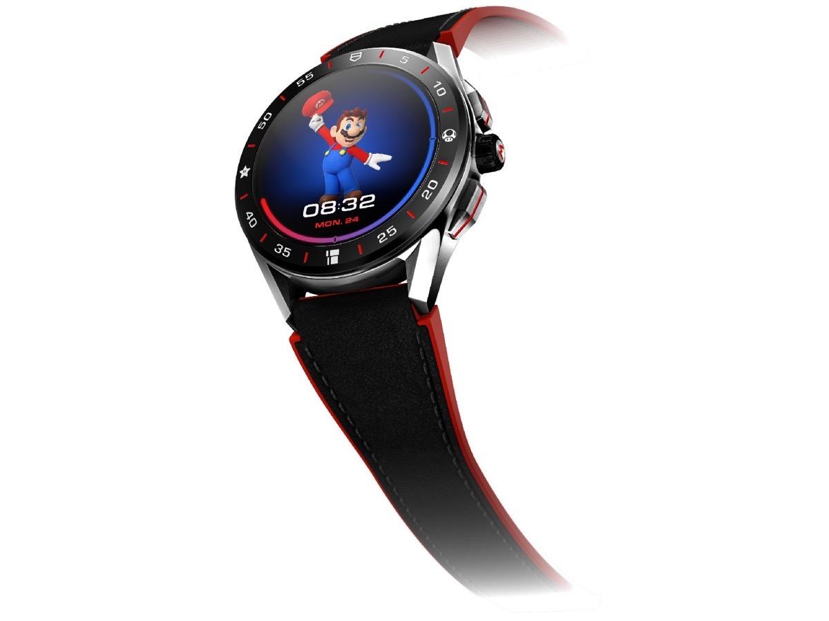 Tag Heuer crea lo smartwatch a tema Super Mario