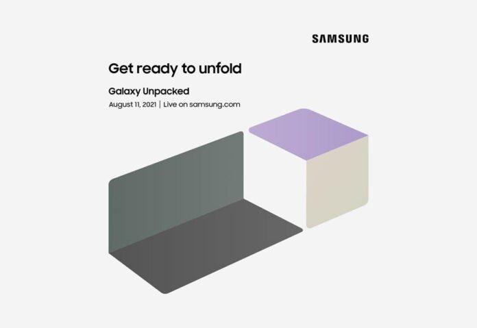 L'11 agosto l'evento Samsung Galaxy Unpacked