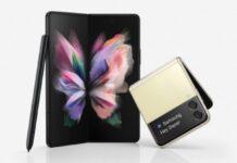 Samsung svela Galaxy Z Fold3 5G e Galaxy Z Flip3 5G
