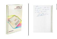 Un manuale dell'Apple II firmato da Steve Jobs venduto per 800.000$