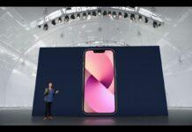 Apple presenta iPhone 13 con notch più piccolo