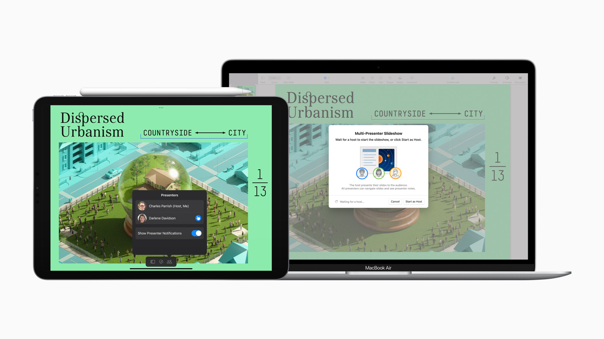 Aggiornati Pages, Numbers e Keynote per iOS 15 e macOS Monterey