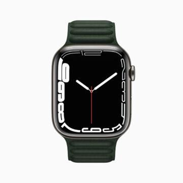 Nuovo Apple Watch Series 7 con un display più grande ed evoluto