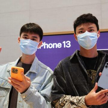 Apple celebra l'inizio disponibilità di iPhone 13 e nuovi iPad