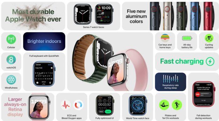 Novità Apple Watch 7, cosa cambia rispetto ad Apple Watch 6