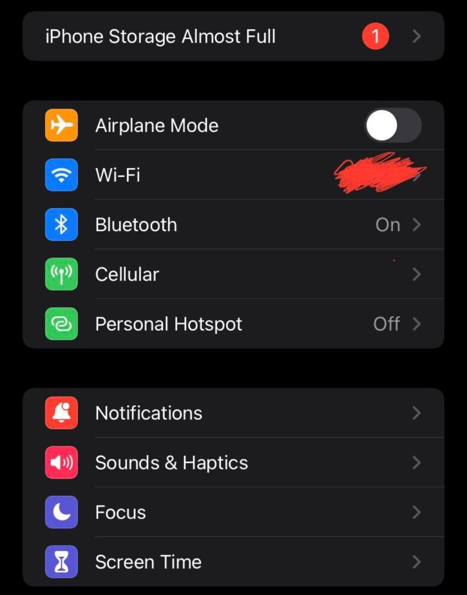 iOS 15, il primo bug dice che la memoria iPhone è piena