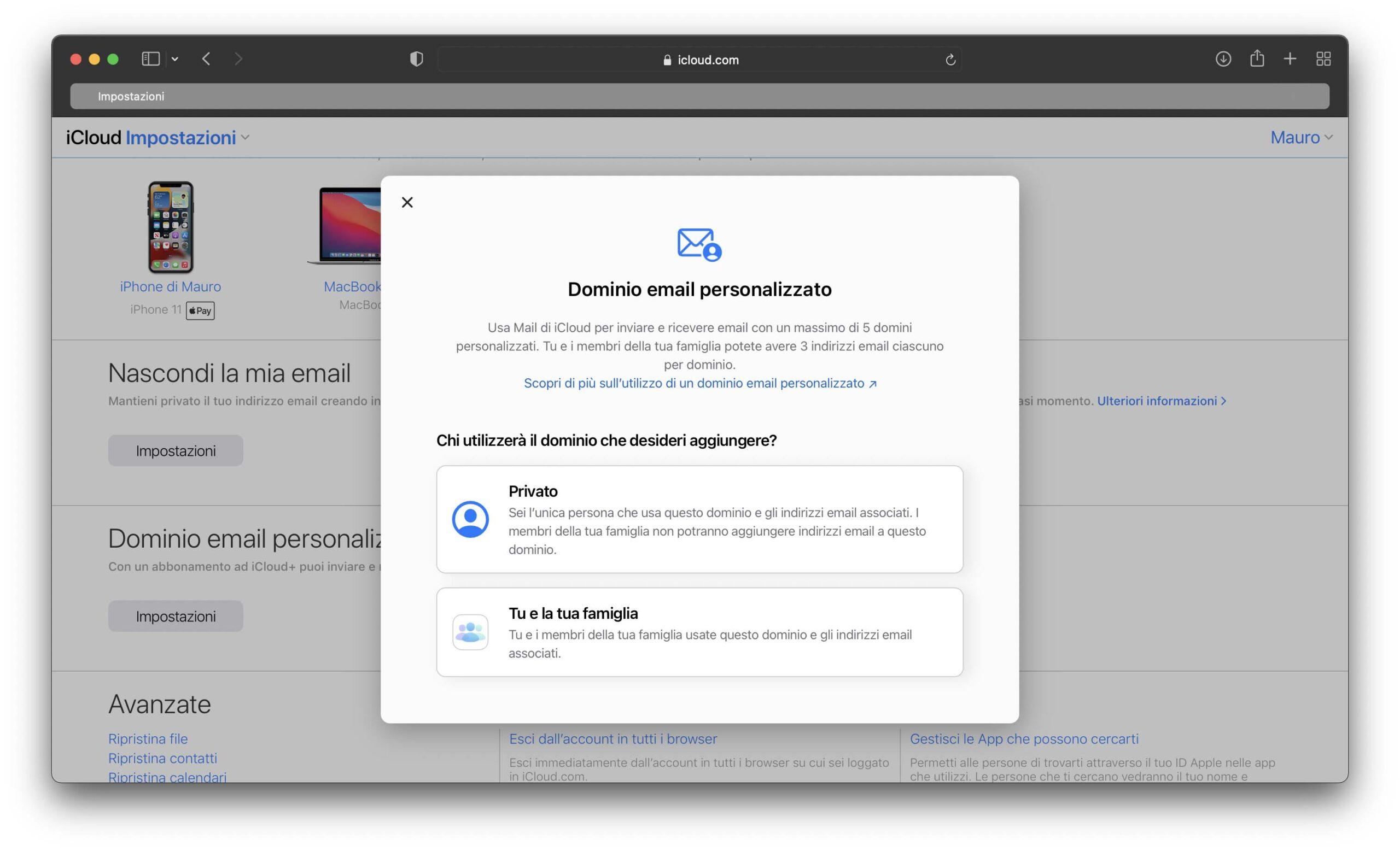 Apple ha aggiornato Mail su iCloud.com