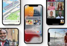 iOS 15, l'adozione è inferiore nei giorni di lancio