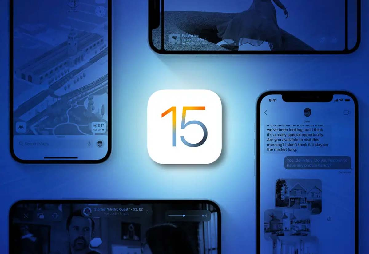 Prepararsi all'aggiornamento a iOS 15 e iPadOS 15