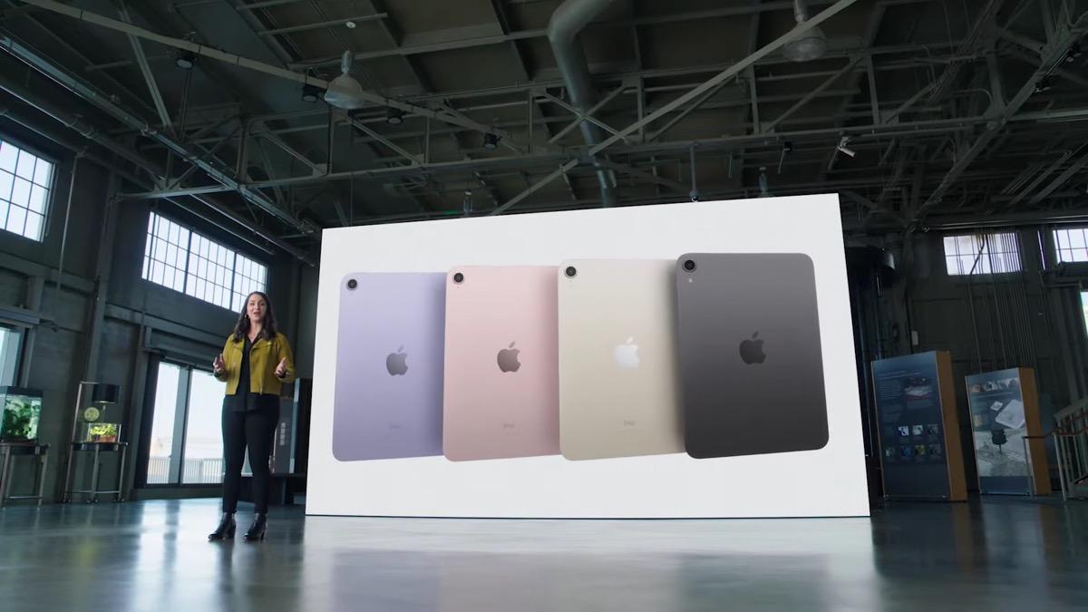 Apple lancia il nuovo iPad mini 6, finalmente si ispira ai modelli Pro