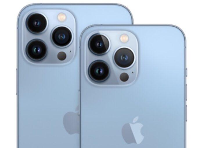 Le fotocamere di iPhone 13 Pro e Max sono identiche