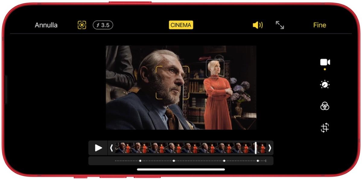 Apple spiega come ha creato la modalità Cinema di iPhone 13