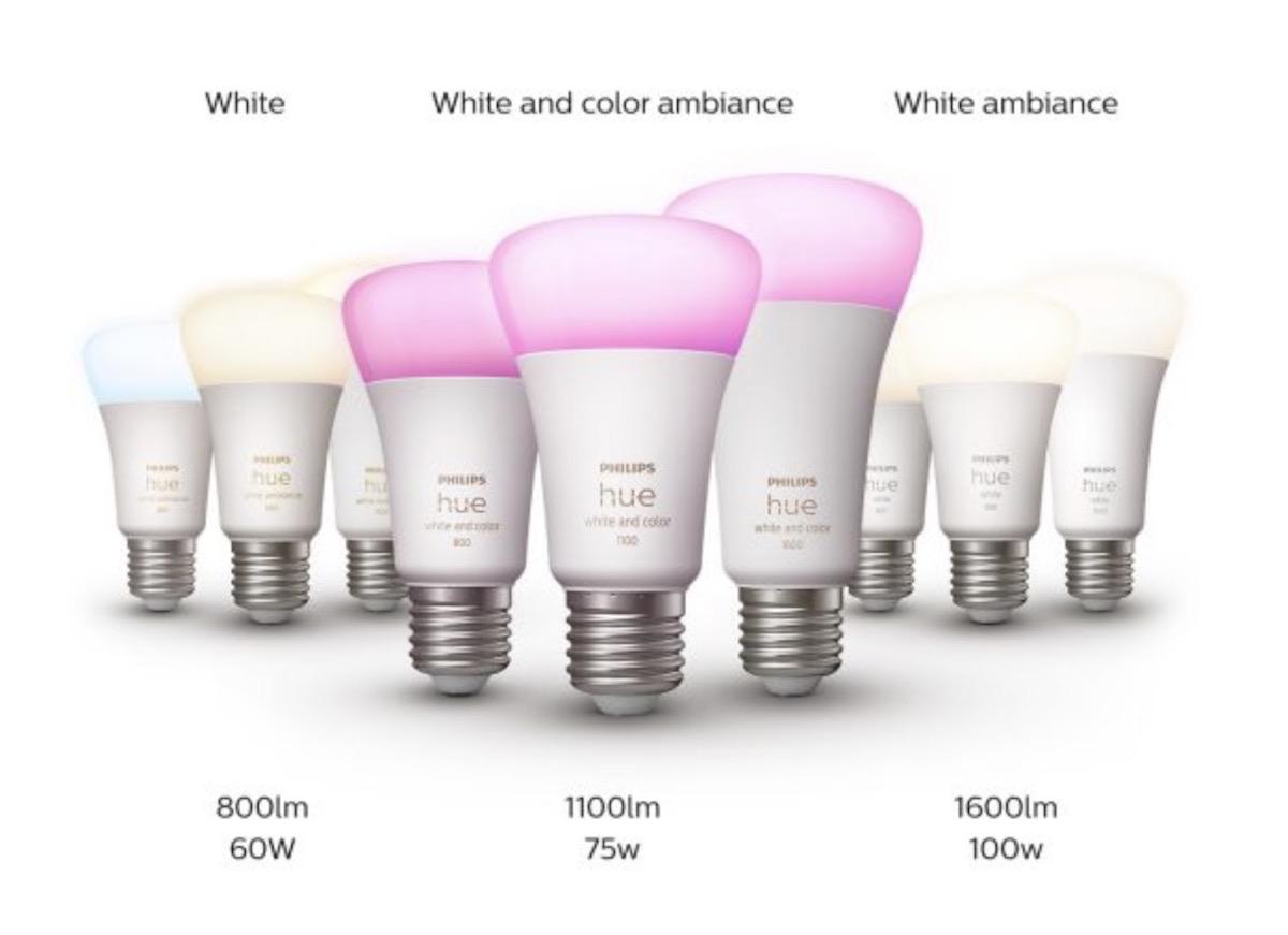 Philips Hue cresce per potenza delle lampadine e varietà di lampade