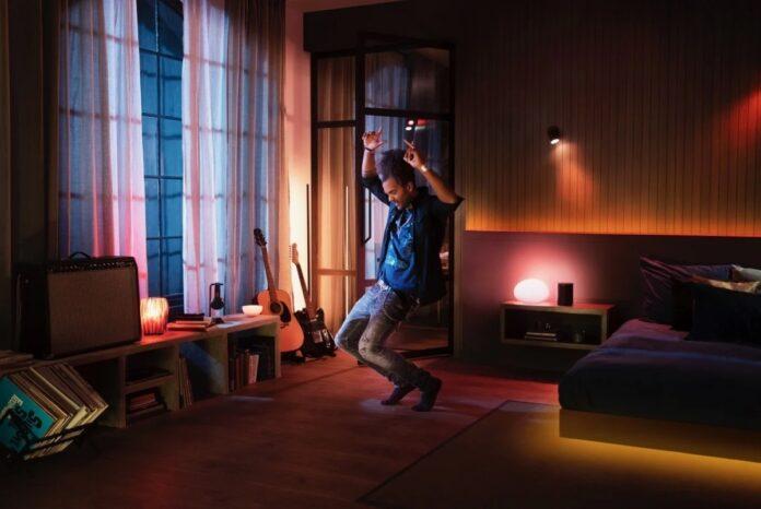 Philips Hue si sincronizzano con Spotify