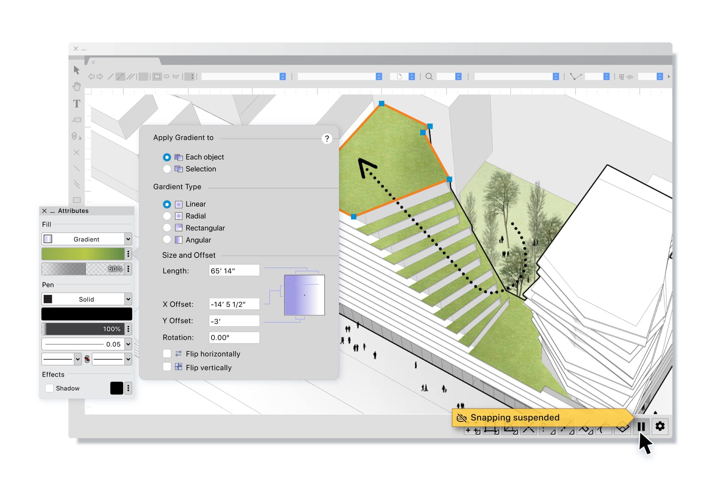 Vectorworks 2022 ottimizzato per CPU Apple Silicon