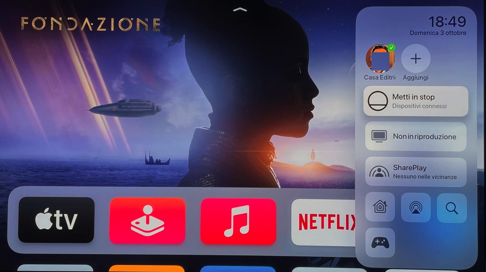 Come far apparire gli avvisi delle telecamere Homekit su Apple TV