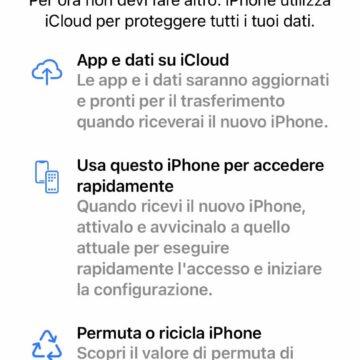 Come sfruttare lo spazio iCloud temporaneo per passare da vecchio a nuovo iPhone